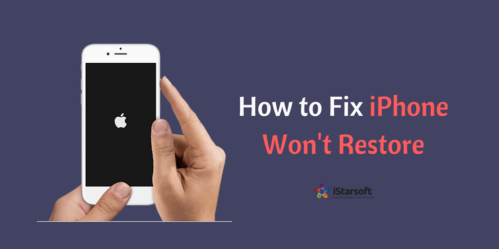 How to Fix iPhone Won't Restore