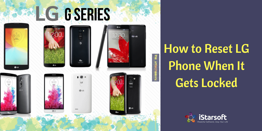 How to reset LG phone