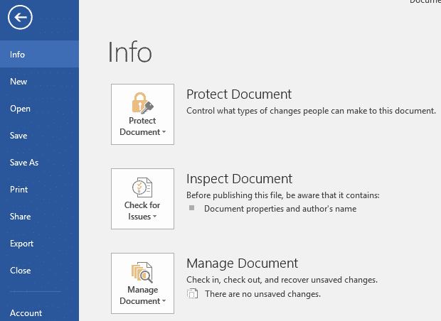 how to recover unsaved word document with Microsoft Word