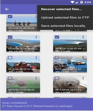 Disk digger Video Recovery for Android
