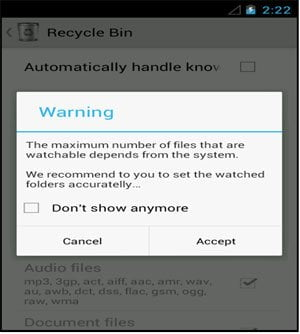 Android Data Recycle Bin