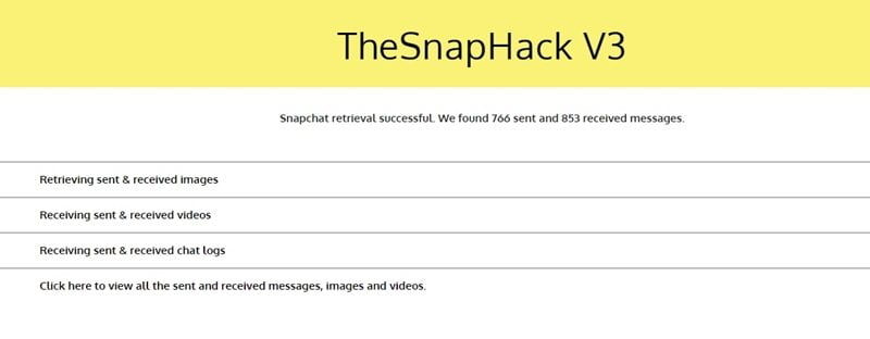 snapchat hack with TheSnapHack