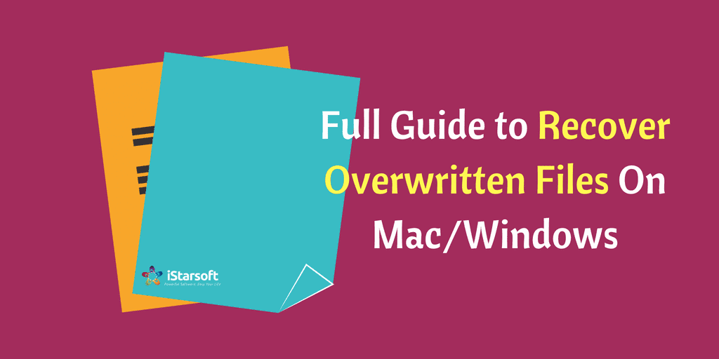 recover overwritten files