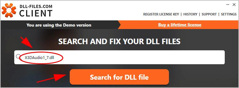 Search X3daudio1_7.dll on dll-files.com