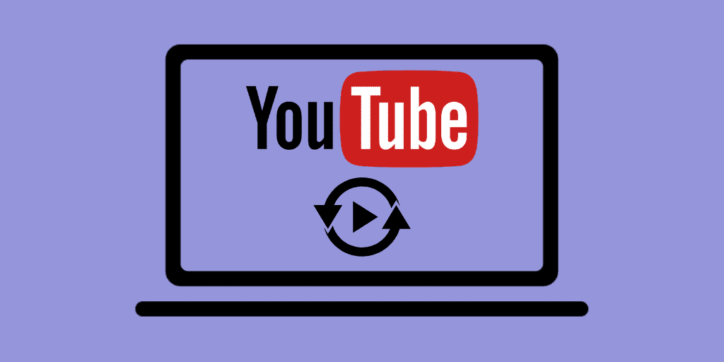 how to repeat youtube