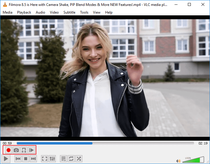 Trim MP4 Video Clips with VLC