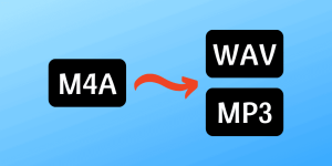 M4A to WAV