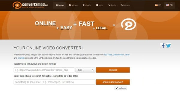 convert2mp3 to convert anything2mp3