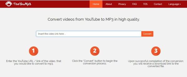 Convert Anything to MP3 by TheYouMp3