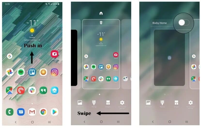 turn off Bixby by Remove Bixby Button