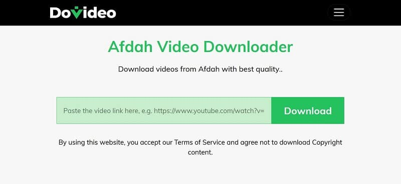 Download afdah Video with DoVideo