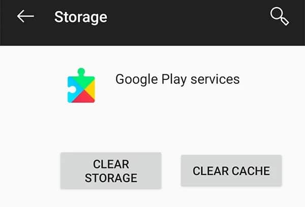 Clear down Google Play Services Data to fix Android system battery drain