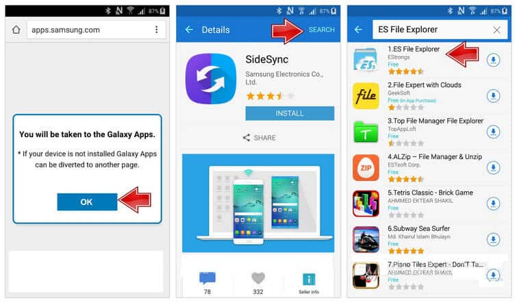 Using The Method Of Sidesync To Bypass