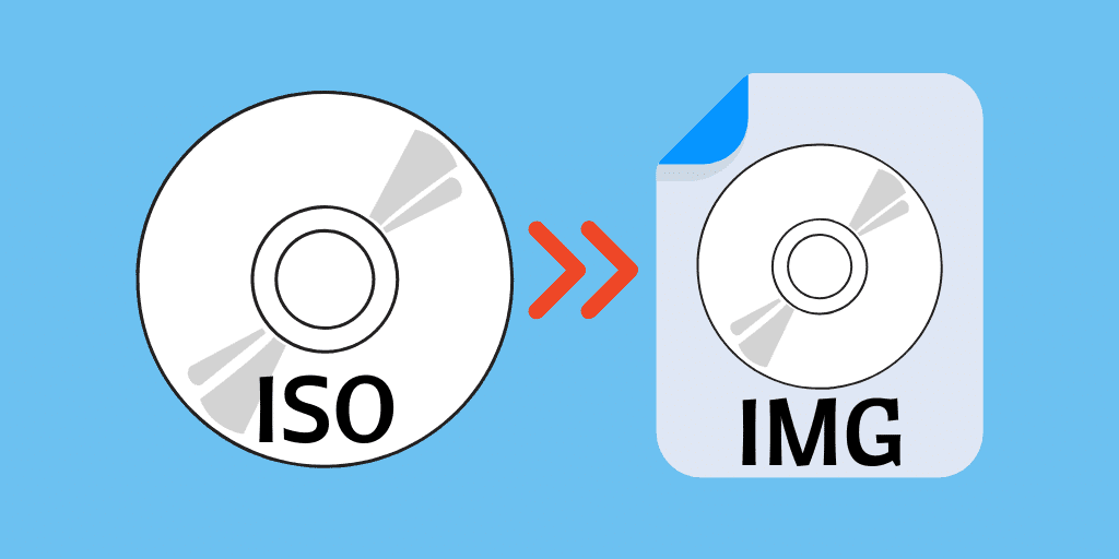 convert ISO to IMG