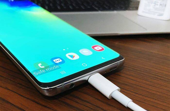 Fix Galaxy S10 not charging in Safemode Charging