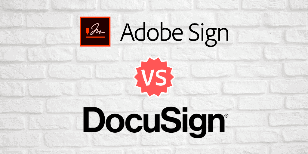 Adobe Sign vs. DocuSign