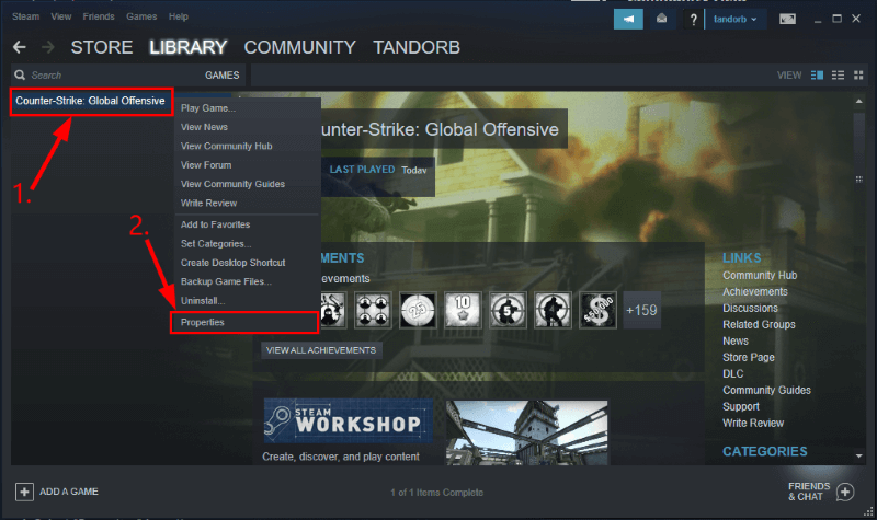Verification of your Steam Files