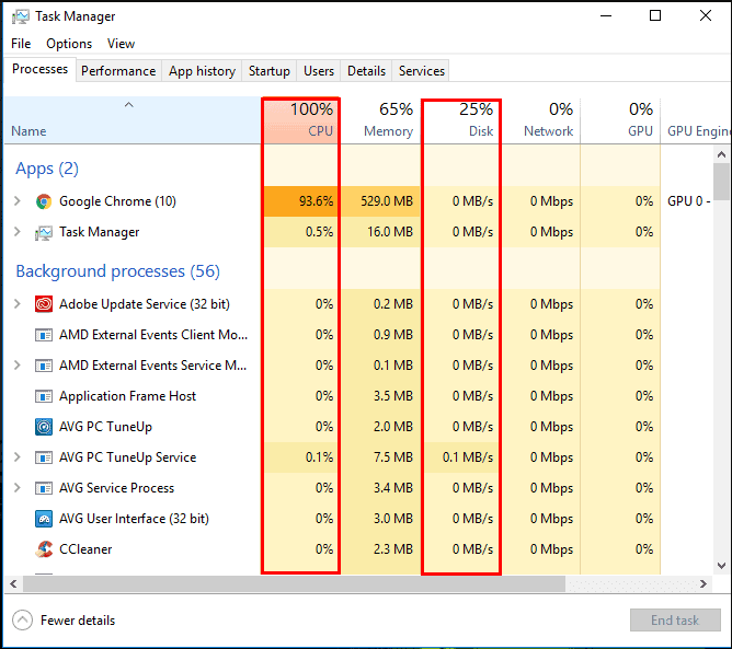 Stop the other unimportant processes to fix Igfxem Module High CPU
