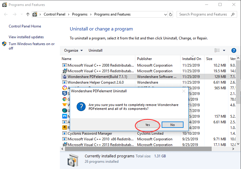 Remove Helper Compact with Application Manager
