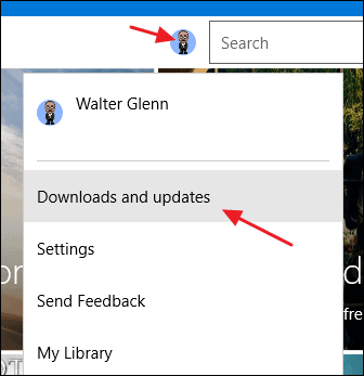 Update the universal apps and Windows