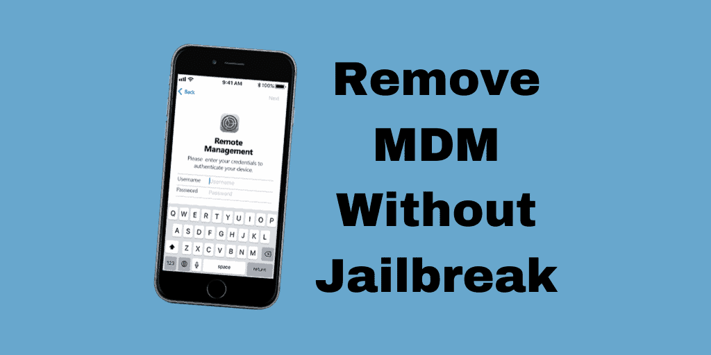 Remove MDM Without Jailbreak