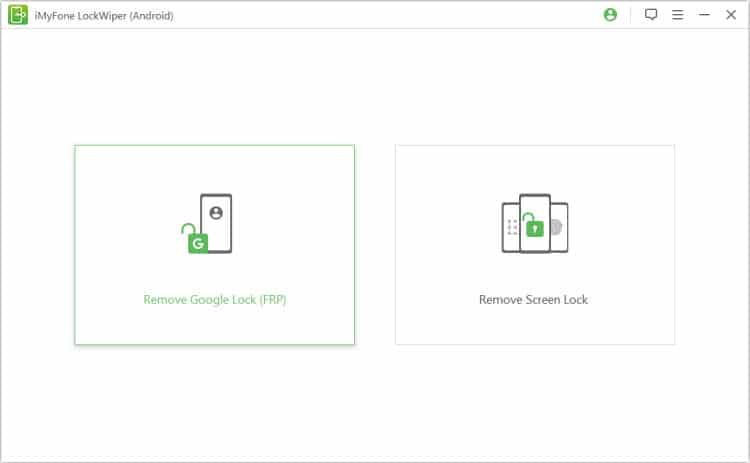 Easy FRP Bypass Alternative - iMyFone LockWiper (Android)