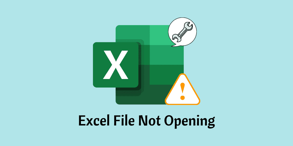 Excel File Not Opening