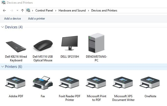 Configure your printer as