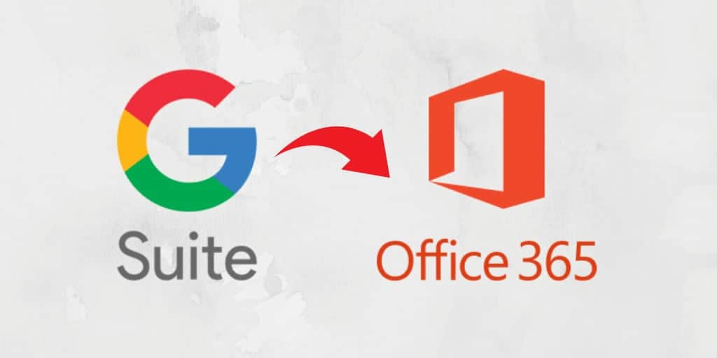 Migrate from G Suite to Office 365
