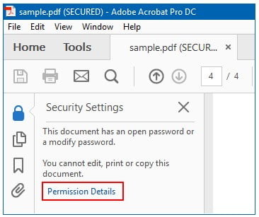 """Remove the """"Print Restriction"""" option using a password"""