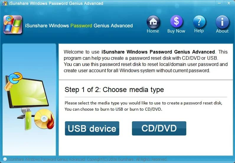 iSundare Windows Password Genius