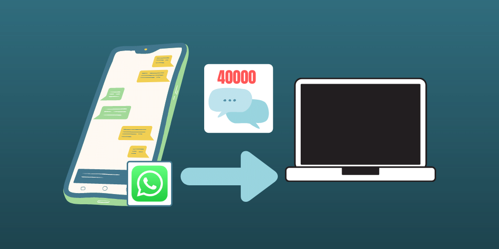 WhatsApp Export More Than 40000 Messages