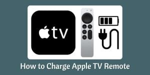 Charge Apple TV Remote